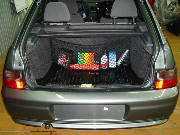 Сетка на багажник своими руками 470